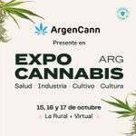 Image for the Tweet beginning: Estaremos presentes en Expo Cannabis