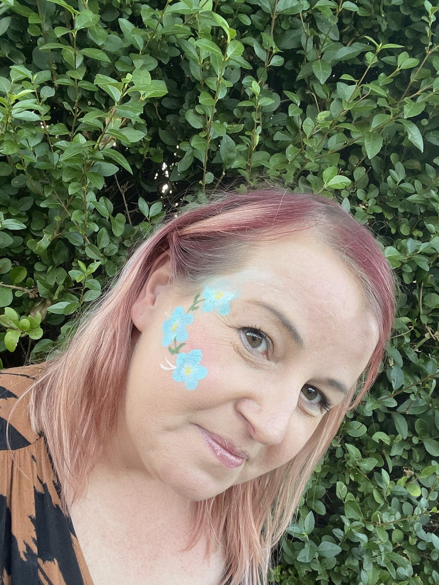 What a fab start to the working week - day 1 of a week long music festival. Thanks to colleagues for the face paints. A superb afternoon with @RockKidzUK #lovemyjob