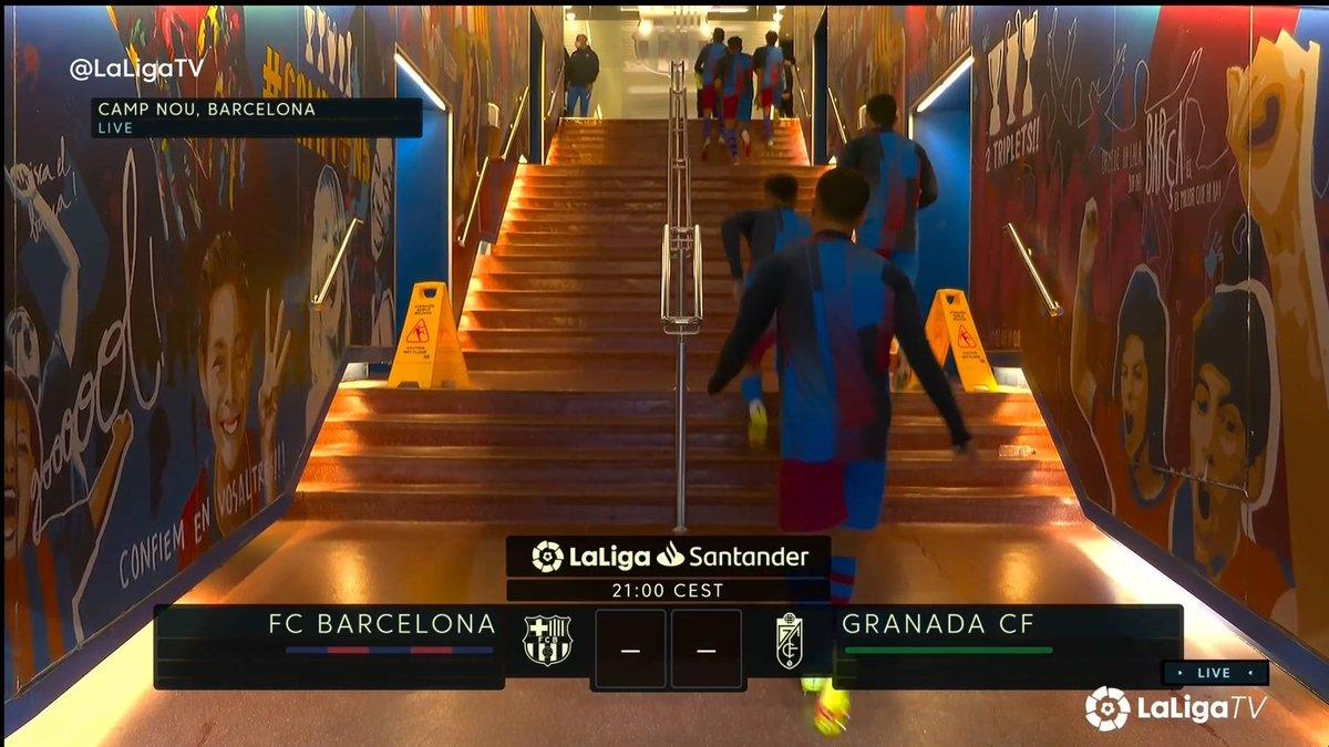 Full match: Barcelona vs Granada