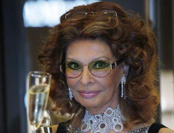 Happy Birthday, Sophia Loren Italy s most important export and destroyer of Cary Grant.