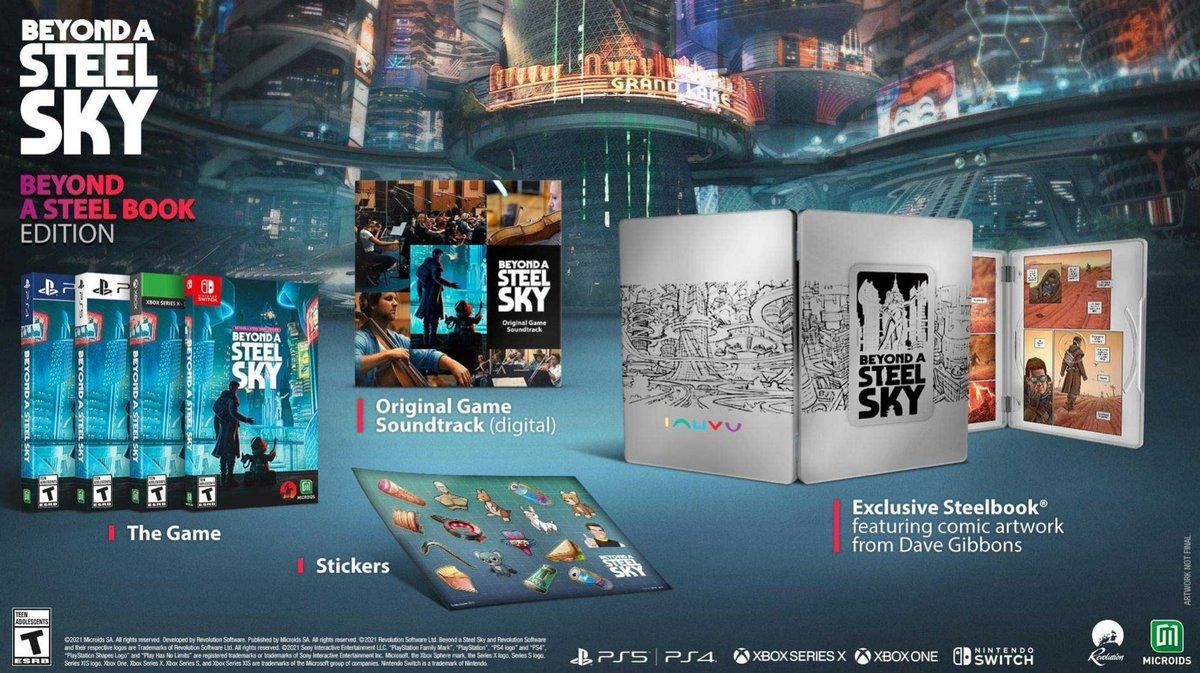 Beyond A Steel Sky: Beyond A SteelBook Edition PS5 $49.99 Amazon