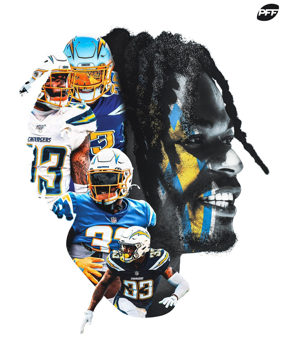 Derwin James: The highest-graded safety in the NFL (89.9)