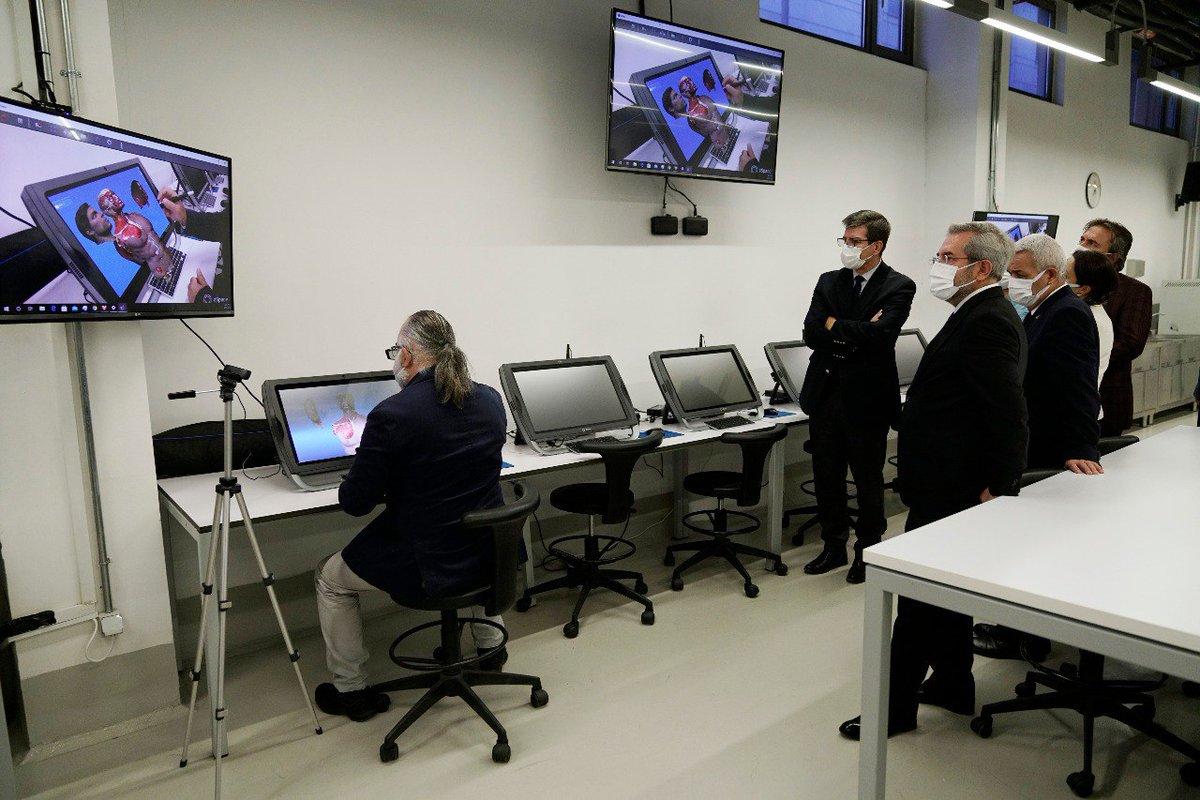 TOBB Üniversitesini ziyaret ederek incelemelerde bulunduk.  1) Dijital Anatomi Laboratuvarı.. @tobbetum