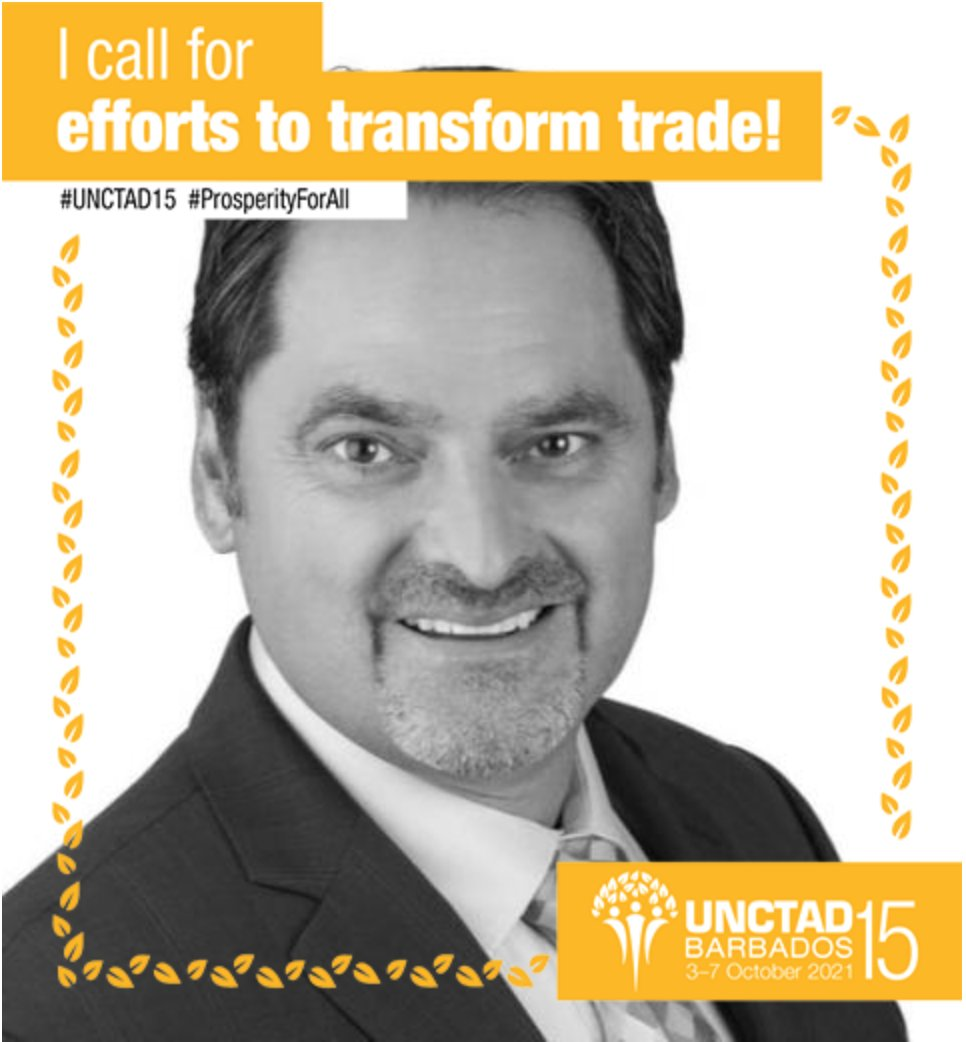 TRACIT's SG @jeffreyphardy: Let's focus on combatting #illicittrade to chart a safe, fair and sustainable recovery from #COVID19 and achieve #ProsperityforAll. #UNCTAD15