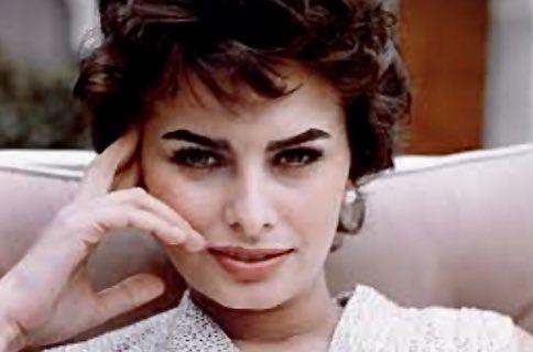 Happy Birthday to, Sophia Loren, just as stunning today.