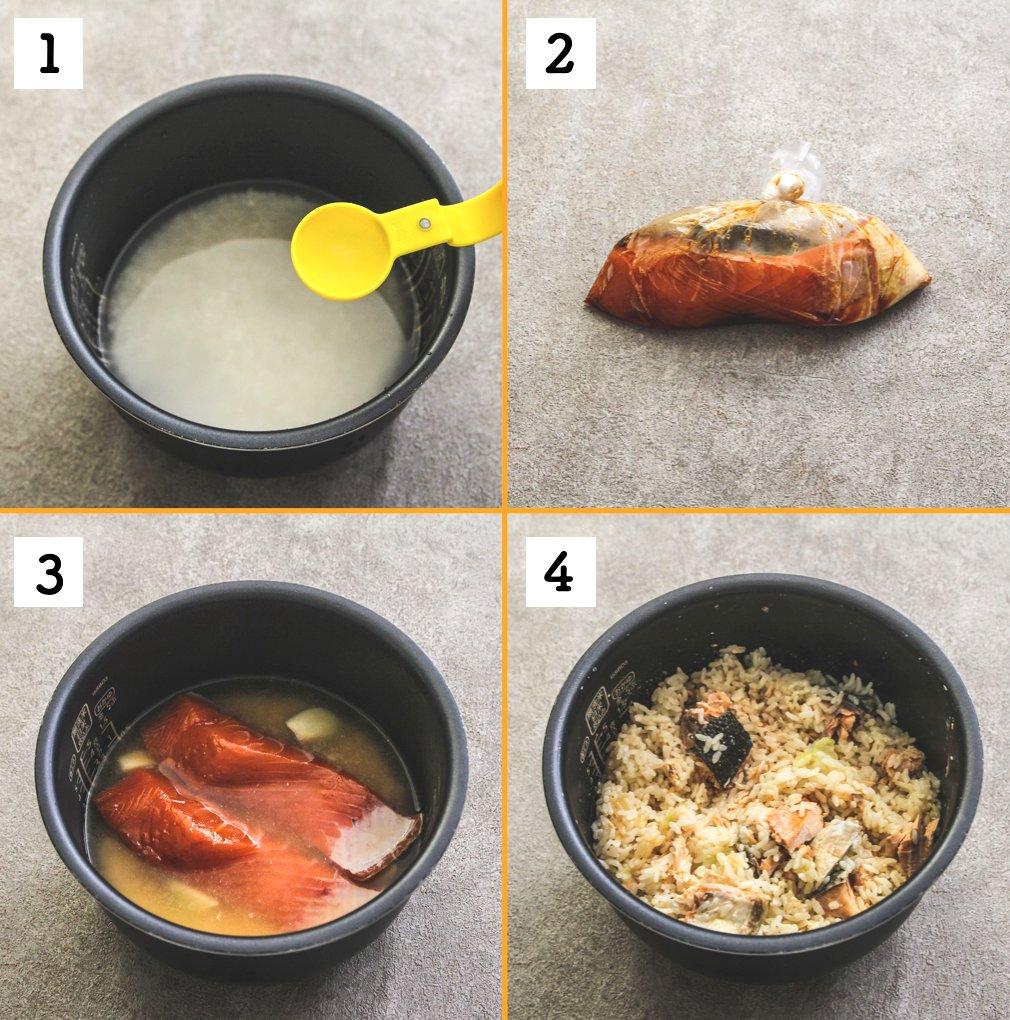 2合炊いてもあっという間に無くなっちゃう美味しさ?!鮭を使った炊き込みご飯レシピ!