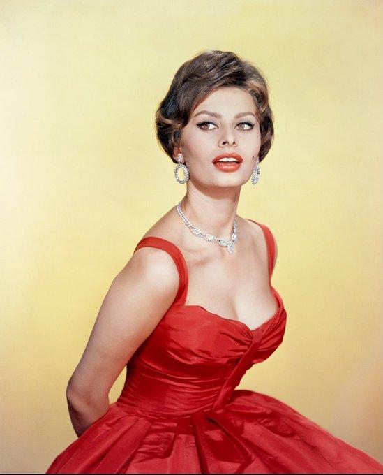Happy birthday Sophia Loren!
