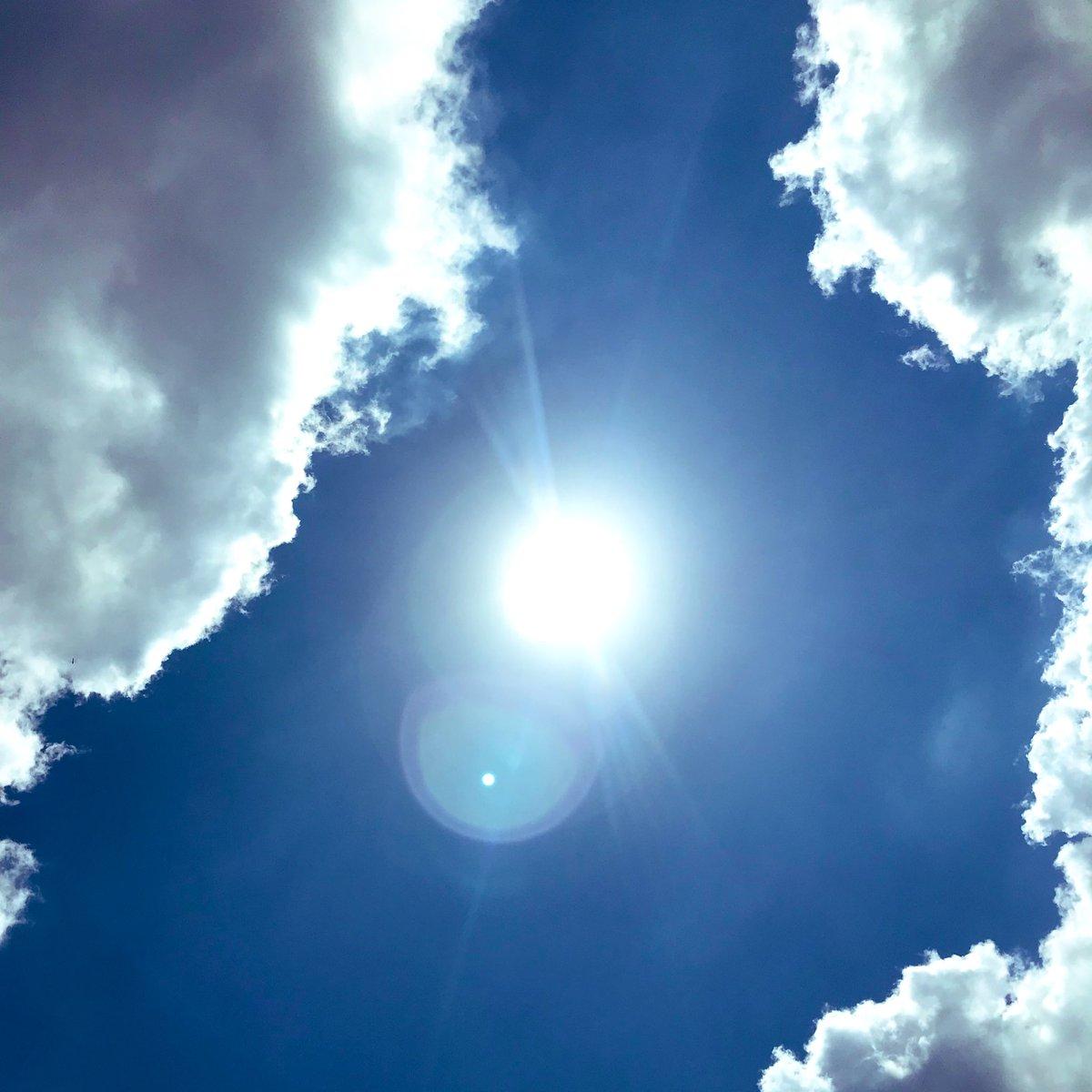 次のお客様の前に役所へ🚗役所前の伊奈町の青空。日差しは強いですが、快晴☀️は気分も晴々☀️伊奈店ホットペッパーからのご予約…#埼玉脱毛 #顔脱毛 #VIO#プライベートサロン #伊奈町