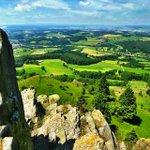 Image for the Tweet beginning: Mountain Landscape in Hessen, Germany