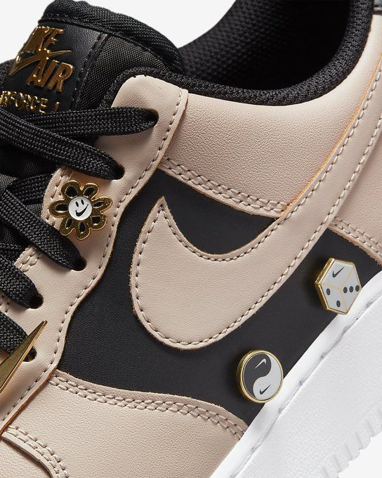 Available via Footlocker Nike Air Force 1 '07 PRM Chain 'Beige' =