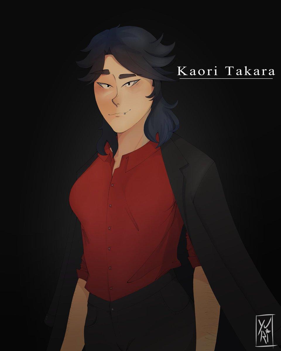 Mano esse é o meu unico desenho q eu alho e continuo gostando... Sla a anatomia dele... a pintura... nossa vou desenhar mais a Kaori