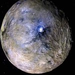 Image for the Tweet beginning: Ceres is the largest astronomical