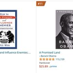 Image for the Tweet beginning: WE ARE BEATING OBAMA'S BOOK!