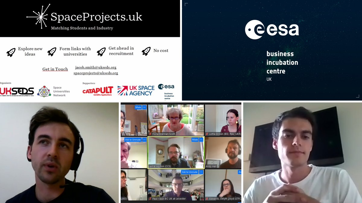 Thank you to everyone who joined SpaceCakes last week. Great to hear from our fantastic guest speakers: 🚀Ultima Forma 🚀@SkyfarerLtd 🚀SmartIR 🚀@HartreeCentre 🚀@SatAppsCatapult 🚀@gov_procurement 🚀@UKSEDS 🚀@soundmotive Next one is 21 October: eventbrite.co.uk/e/spacecakes-o…