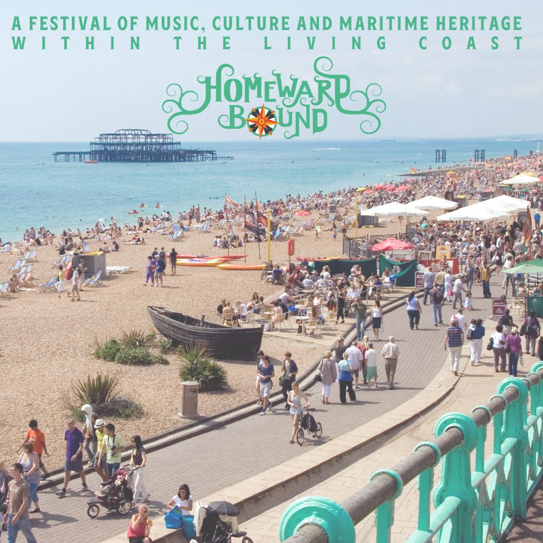 There's always been plenty to lure sailors, smugglers, fishermen and day-trippers to these shingle shores. At #HomewardBoundFestival we'll be celebrating it all! 📅2/3 October - Join us @HomewardBfest for a hearty celebration of life and sea ⚓ homewardboundfestival.com