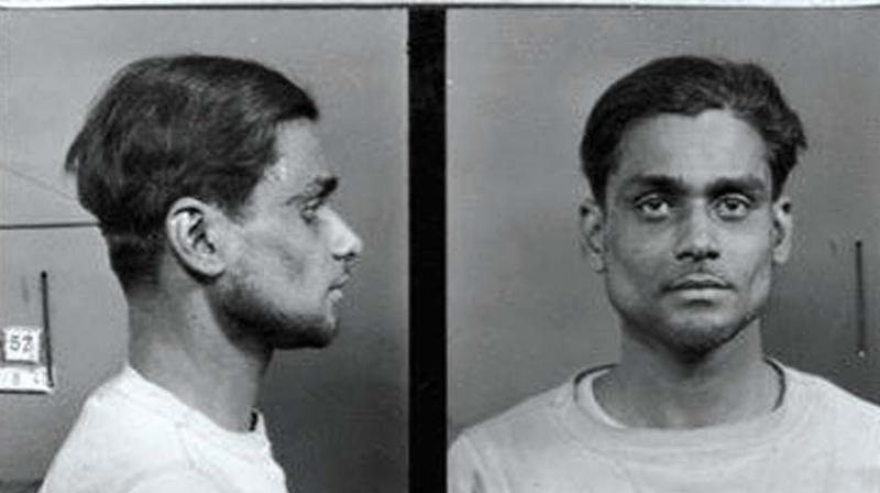 Last photo of M Madhavan, the only Indian to be executed by the Nazis in their notorious concentration camp.  79 years ago, on September 21st 1942, Michilotte Madhavan from Puducherry was executed by the Nazis at Fort de Romainville concentration camp.  The forgotten Indian hero.