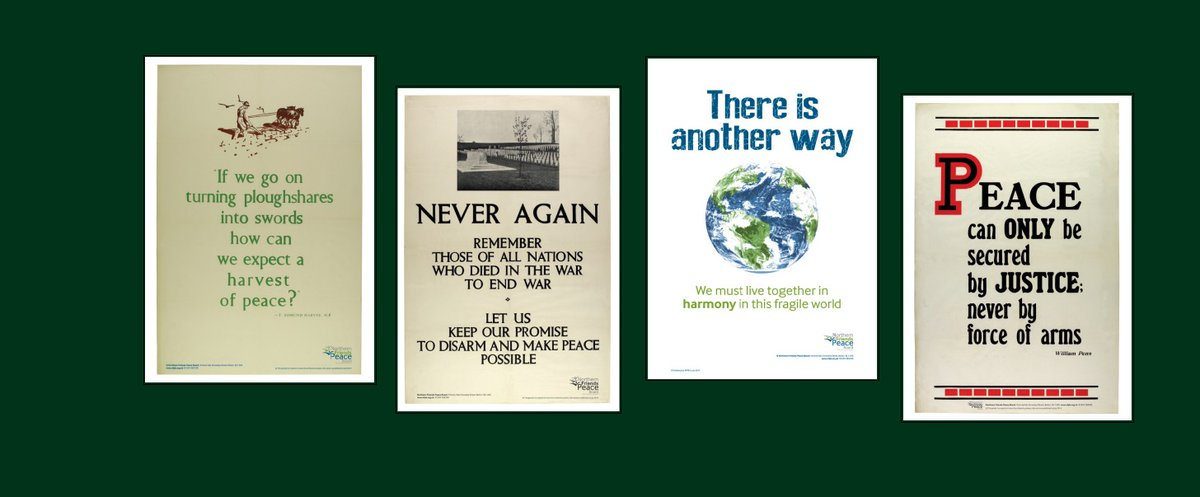 These #peaceposters available from through our website at: nfpb.org.uk/product/poster…