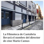 Image for the Tweet beginning: La Filmoteca de Cantabria se