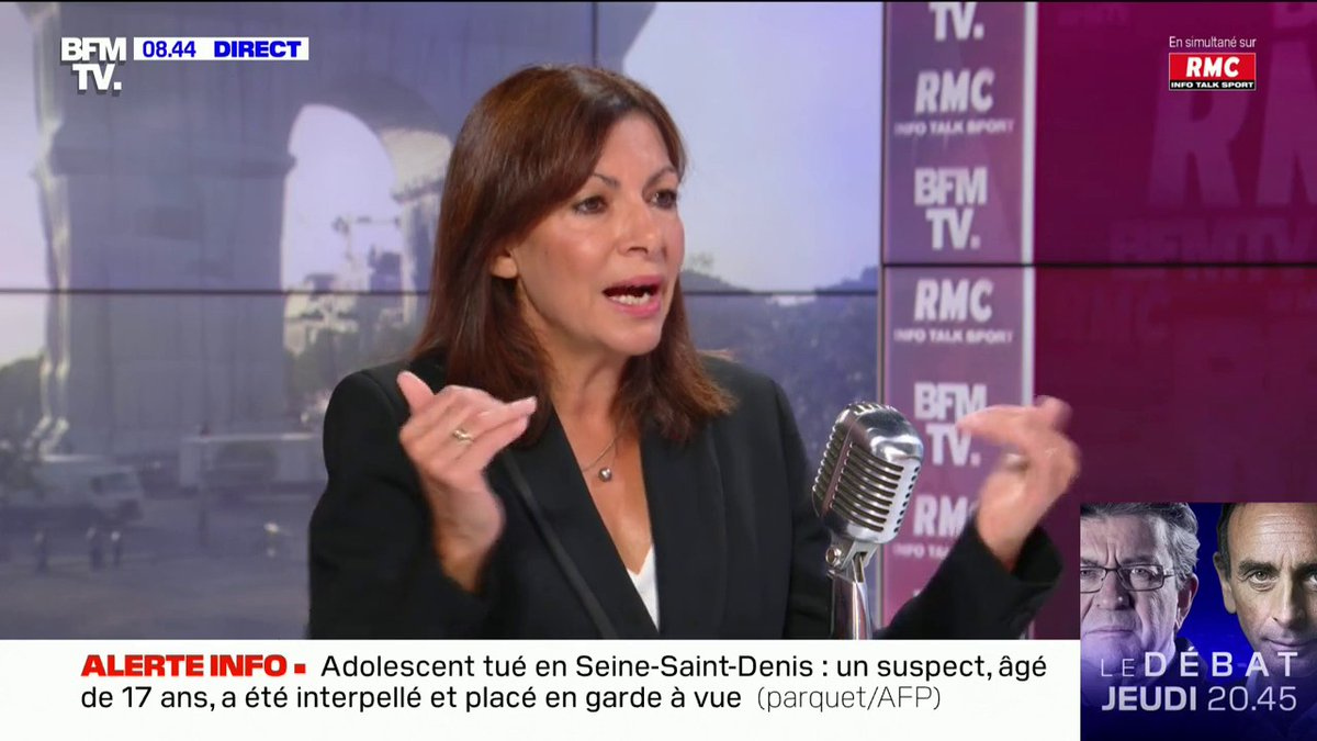 """Image for the Tweet beginning: Anne Hidalgo:  """"Il faudra"""