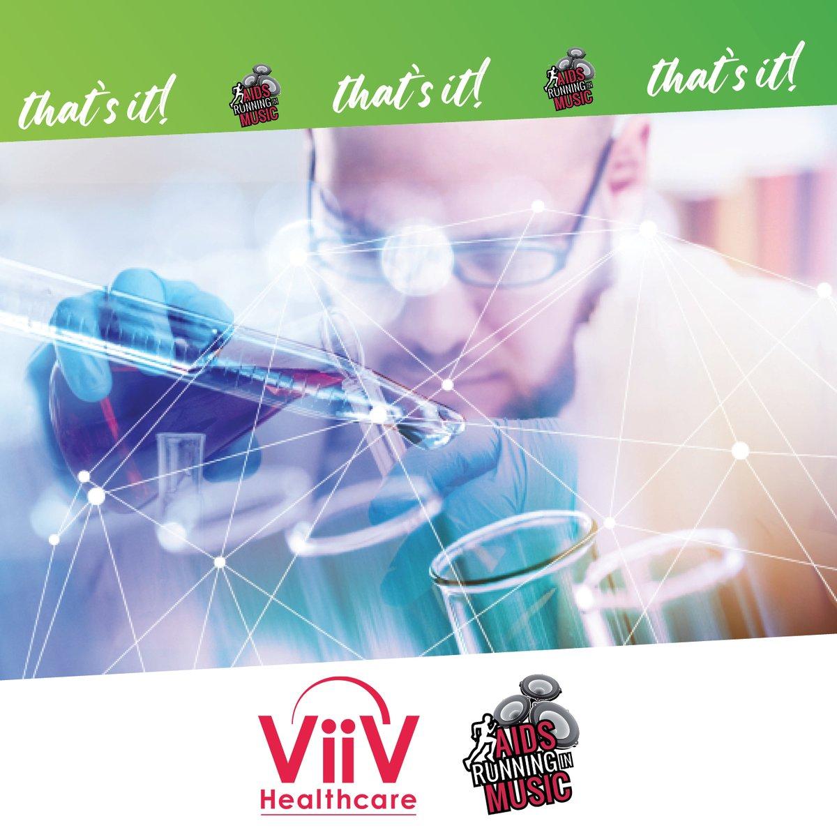 Aids Running in Music e ViiV Healthcare insieme per migliorare la qualità della vita delle persone che vivono con HIV/AIDS con la sensibilizzazione e la ricerca avanzata. #ThatsIt, la virtual run che corre per la ricerca. https://t.co/0CoR89ngVh