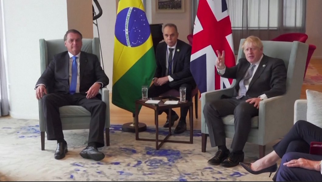Boris Johnson has met Bolsonaro in New York - 1 with the largest number of #COVID19 deaths in Europe, the other with the largest number of #COVID19 deaths in South America... #R4Today #BBCBreakfast #JohnsonHasFailedTheNation #JohnsonOut