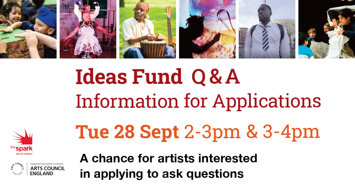 Interested in applying for Vital Spark Ideas fund?  Join us on Tues 28 Sept in our relaxed online sessions.   Booking required:  3⃣Session three, 2-3pm: https://t.co/yeXX3fozoz   4⃣Session four, 3-4pm: https://t.co/p7ZQ8CWjjK   More info: https://t.co/JuQJgYkIeM  ⭐️