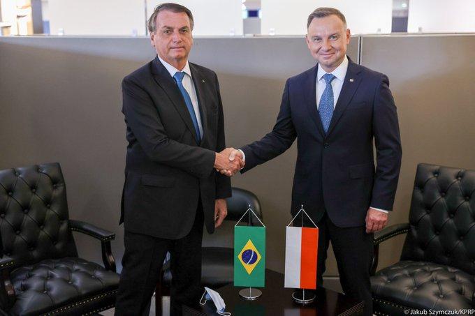 """""""Parceiro mais poderoso"""", diz presidente polonês sobre o Brasil"""