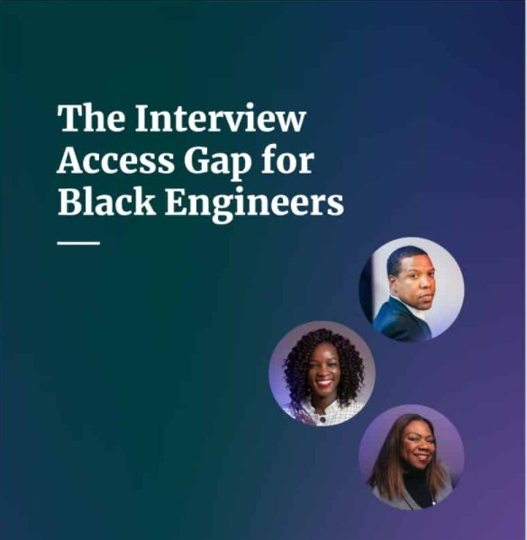 New research reveals an interview access gap exists for #BlackEngineers due to systemic inequity in education and structural barriers in #tech. Report by HUSOE Asst Prof Dr. Katherine Picho-Kiroga, Dr. Legand Burge, III, and Portia Kibble Smith. bit.ly/2VWmwkm