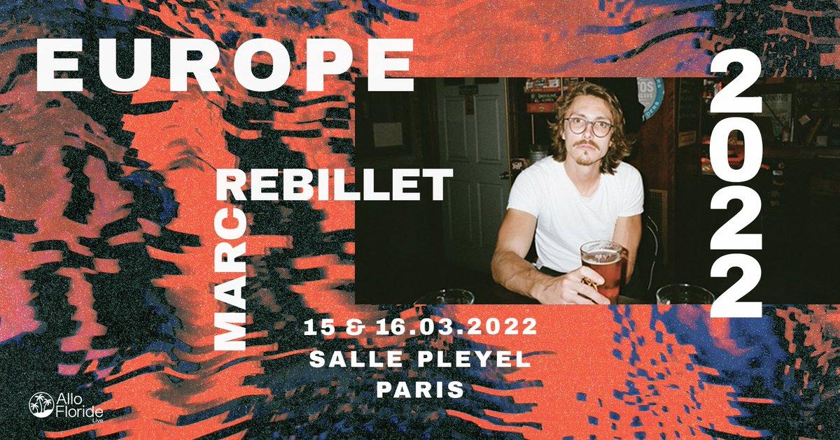 ️[ ANNONCE ]️ MARC REBILLET - 15 & 16 MARS 2022  @marcrebillet sera de passage à la @sallepleyel les 15 & 16 mars 2022 !   MISE EN VENTE : 24/09 - 11h00 https://t.co/iRSRqjop0T   Présenté par