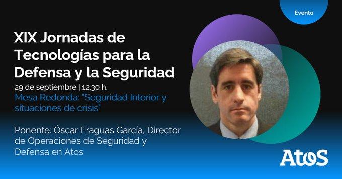 Nuestro compañero Óscar Fraguas participará el 29 de septiembre en las XIX Jornadas de...