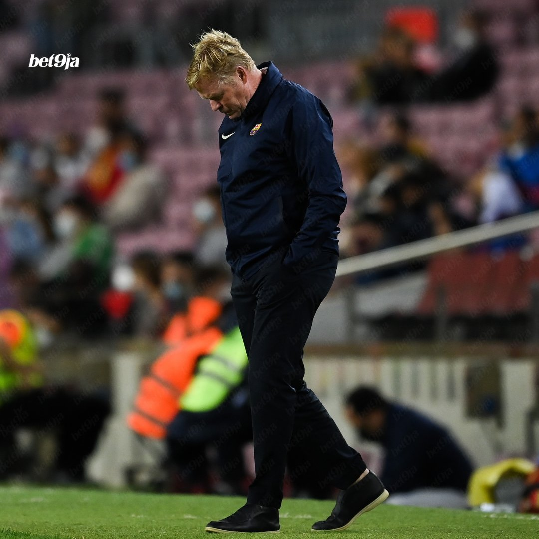 """Ronald Koeman 🗣 """"If you look at the squad list, what style do you play? Do you play tiki taka? We did what had to be done. Barcelona today is not the same as Barça 8 years ago."""" Sounds like a man under pressure 😬"""
