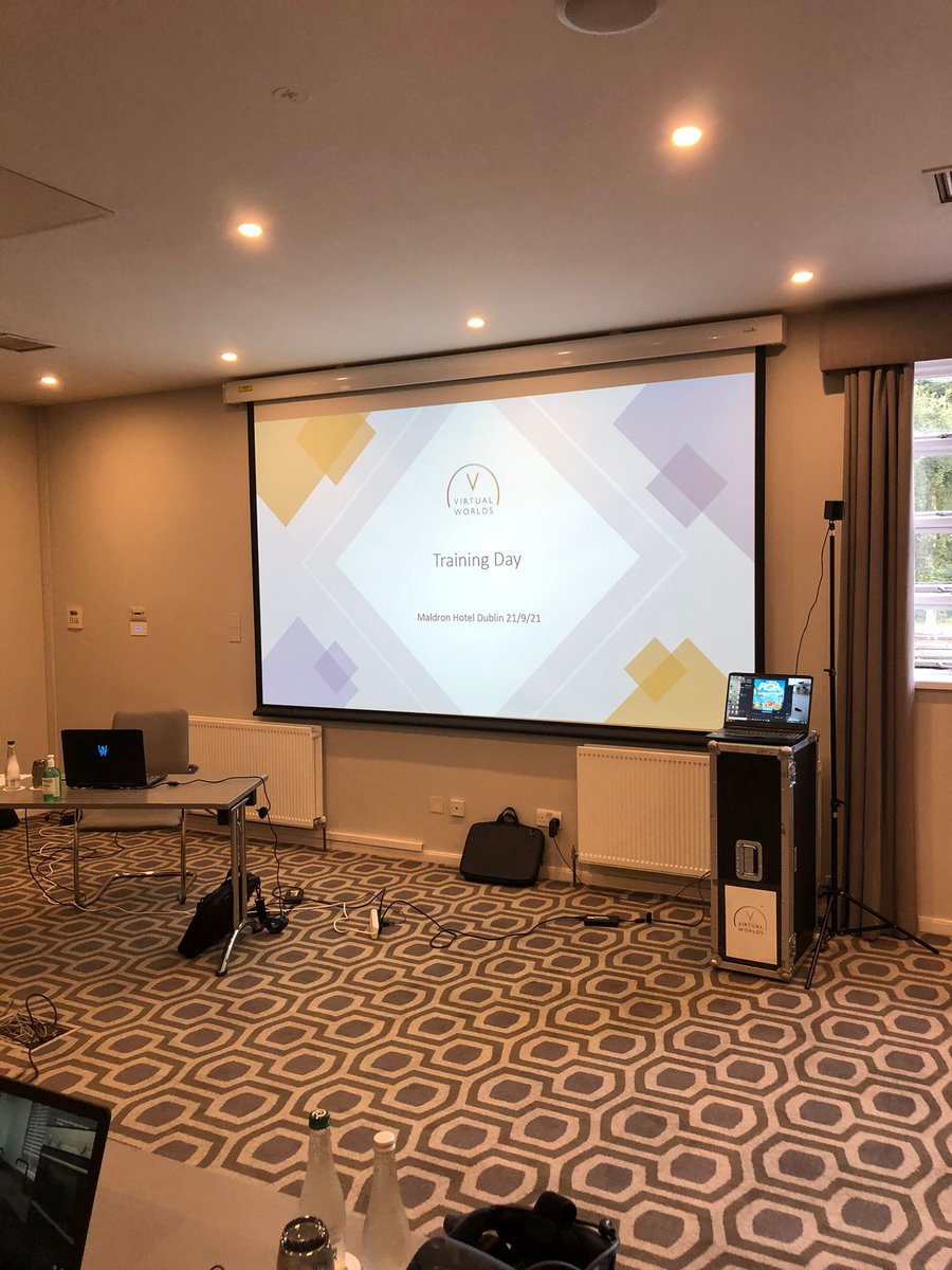 Our first training event is ready to start in Dublin! It's fantastic to be able to get together again and we'll be announcing more venues soon. #training #event #VW4D