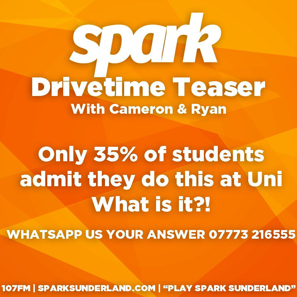 Today's Drivetime Teaser!👇