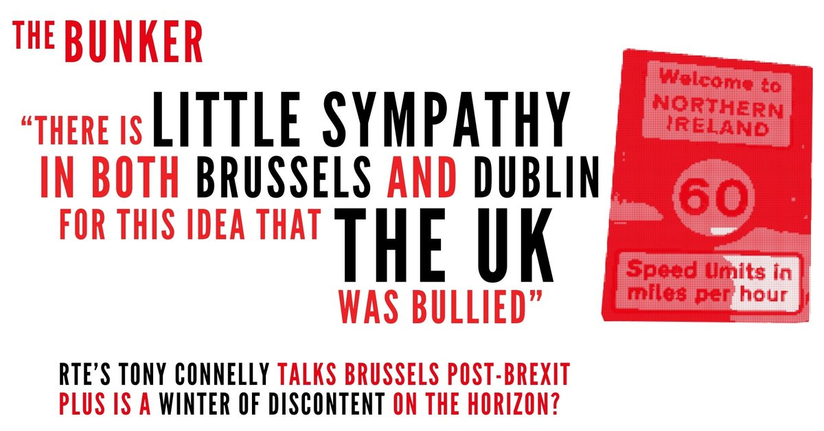 'There is little sympathy in both Brussels and Dublin for this idea that the UK was bullied.' @tconnellyRTE joins @sturdyAlex @youngvulgarian & @SnellArthur to discuss Brussels post-Brexit. And @frankandrews__ on the DSEI Arms fair in London. Listen: kite.link/BK2109Energy