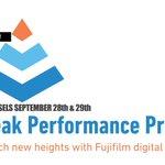 Image for the Tweet beginning: The peak performance print experience