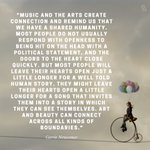 Image for the Tweet beginning: Check out our interview musician/poet/activist