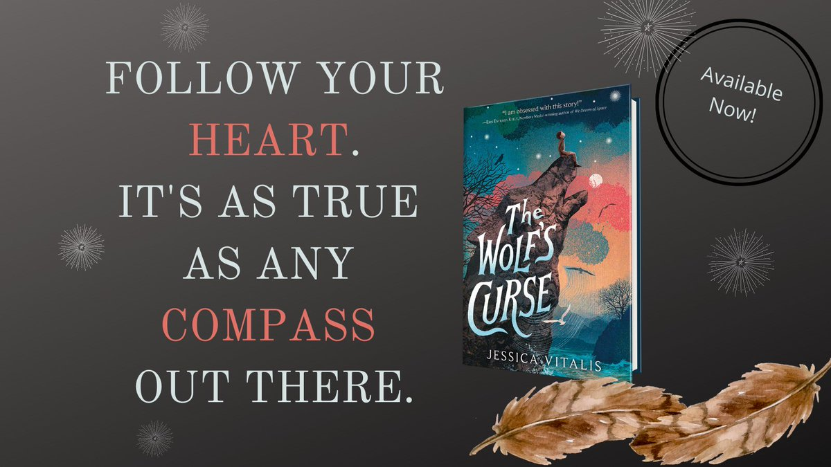 THE WOLF'S CURSE--out today and available everywhere books are sold! #dreamcometrue #Debut #BookLaunch #bookbirthday @HarperStacks @LovethePippins @GreenwillowBook @booksforwardpr #the21ders #TheWolfsCurse