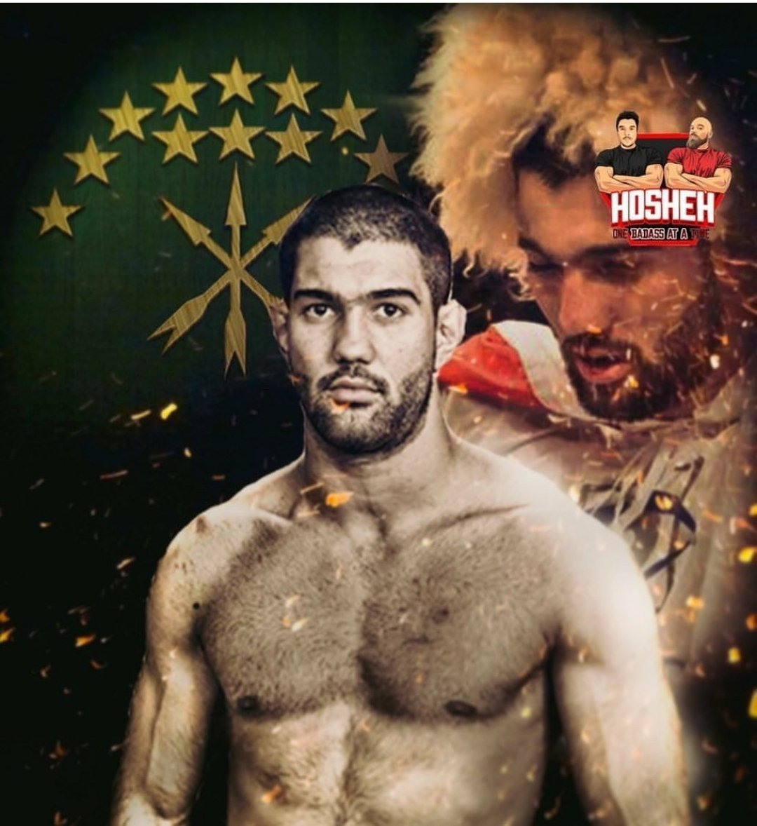 Very very hyped for our brother Hashem Arkhagha who fights on Dana Whites Contender Series tonight, as he tries to secure a spot in the UFC. He will be the first Circassian fighter (i believe) to do so, inshallah.  May Allah grant our brother the victory, Ameen