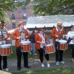 Image for the Tweet beginning: The @PrincetonUBand performing at #PrincetonReunions