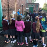 Year 5 are having a great time being engineers at Sandford Mill!
