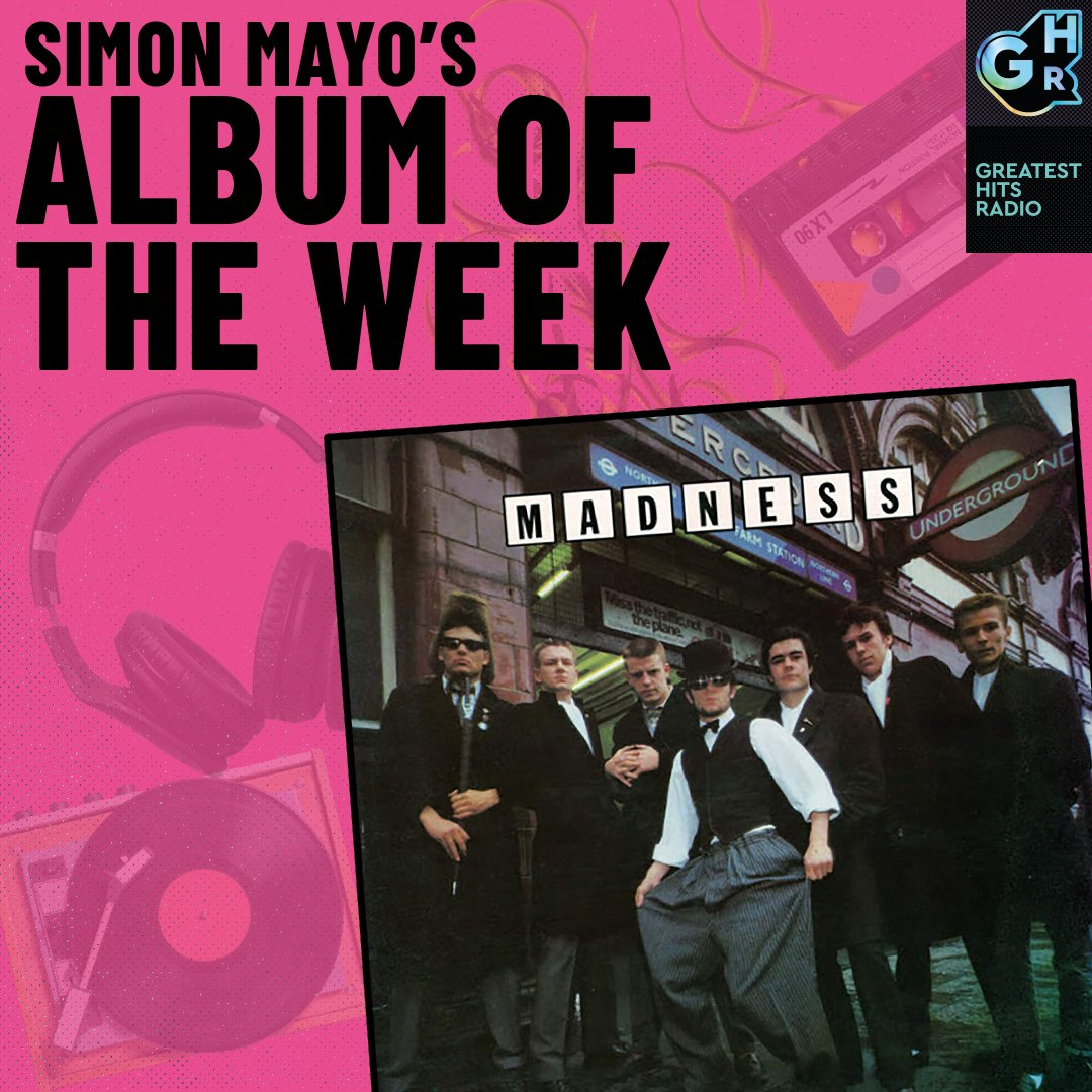 Simon's chosen @MadnessNews 'Absolutely' for Album of The Week this week 💿  Listen out for his song selection 4pm to 7pm every weekday on Drivetime with @simonmayo