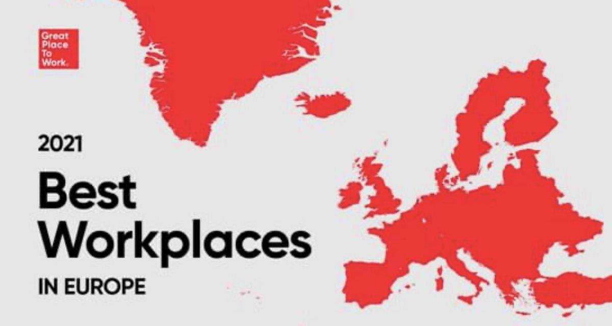 1 miljon medarbetare har sagt sitt: AbbVie är Europas näst bästa multinationella arbetsplats – och allra bäst inom life science. Det här har vi skapat tillsammans! ❤️ https://t.co/DMlweRpVTR