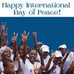 Image for the Tweet beginning: Today, on #InternationalDayofPeace, we #celebrate