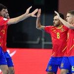 Image for the Tweet beginning: La selección española de #fútbolsala