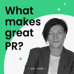 Image for the Tweet beginning: The role of #PR in