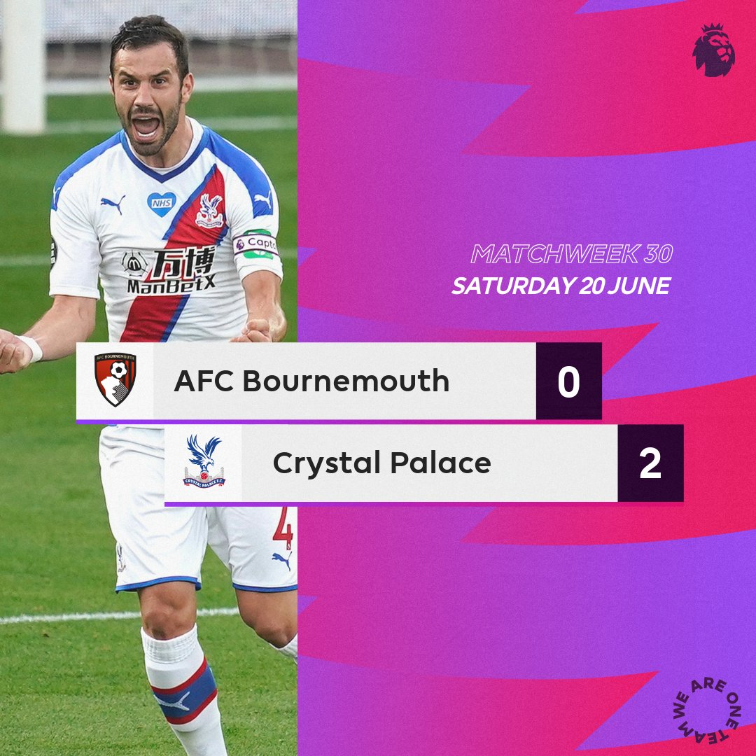 Bournemouth-Crystal Palace
