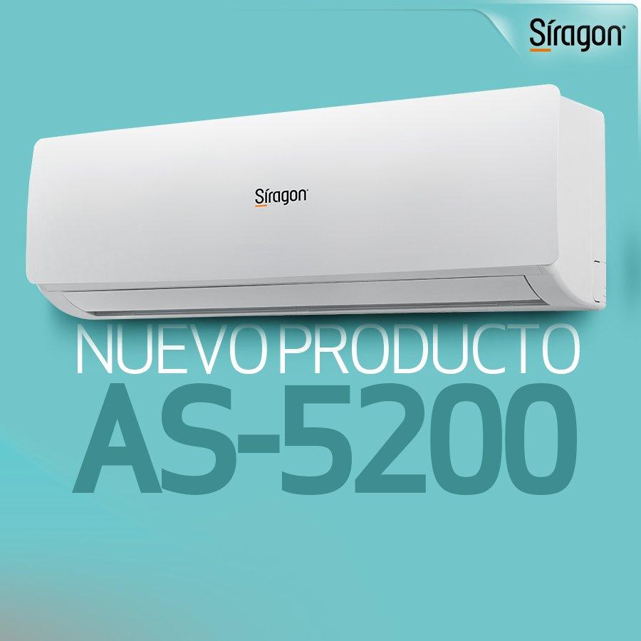 Climatiza y decora tus espacios, gracias al elegante diseño y la eficiencia que brindan nuestros nuevos aires acondicionados AS-5200. . #20Jun #HogarSiragon #Confort #Venezuela https://t.co/yl3k3kUOuO