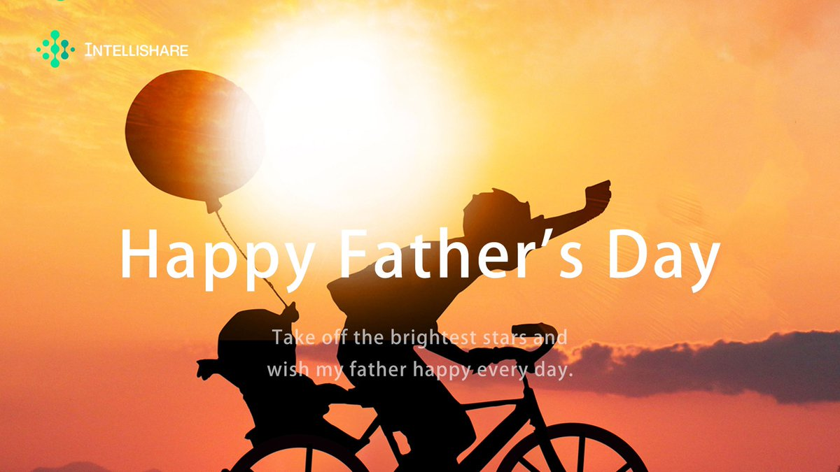 Behind every great kid is a truly amazing father.  #HappyFathersDay #FathersDay #fathersday2020 #IntelliShare https://t.co/n778y9Gzou
