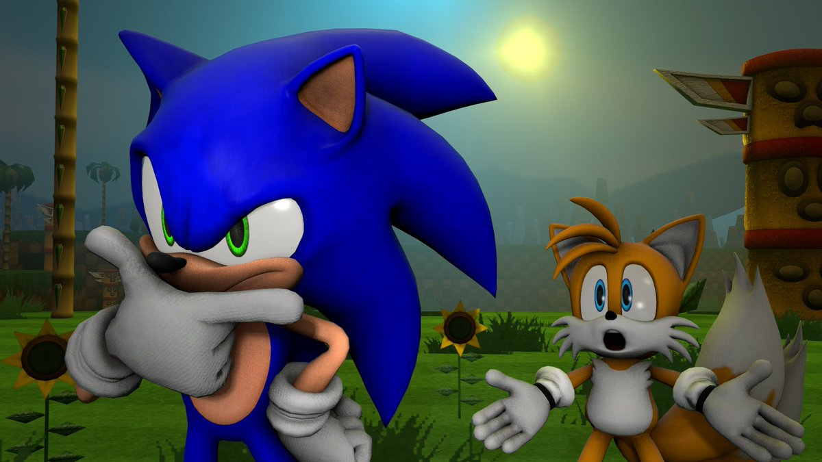 Jonnycars100 On Twitter Response To System9509 Here S A Sonic Advance Render Remake Thing I Tried To Do One That I M Pretty Sure No One Else Has Done Before Enjoy Sfm Sonicadvance2