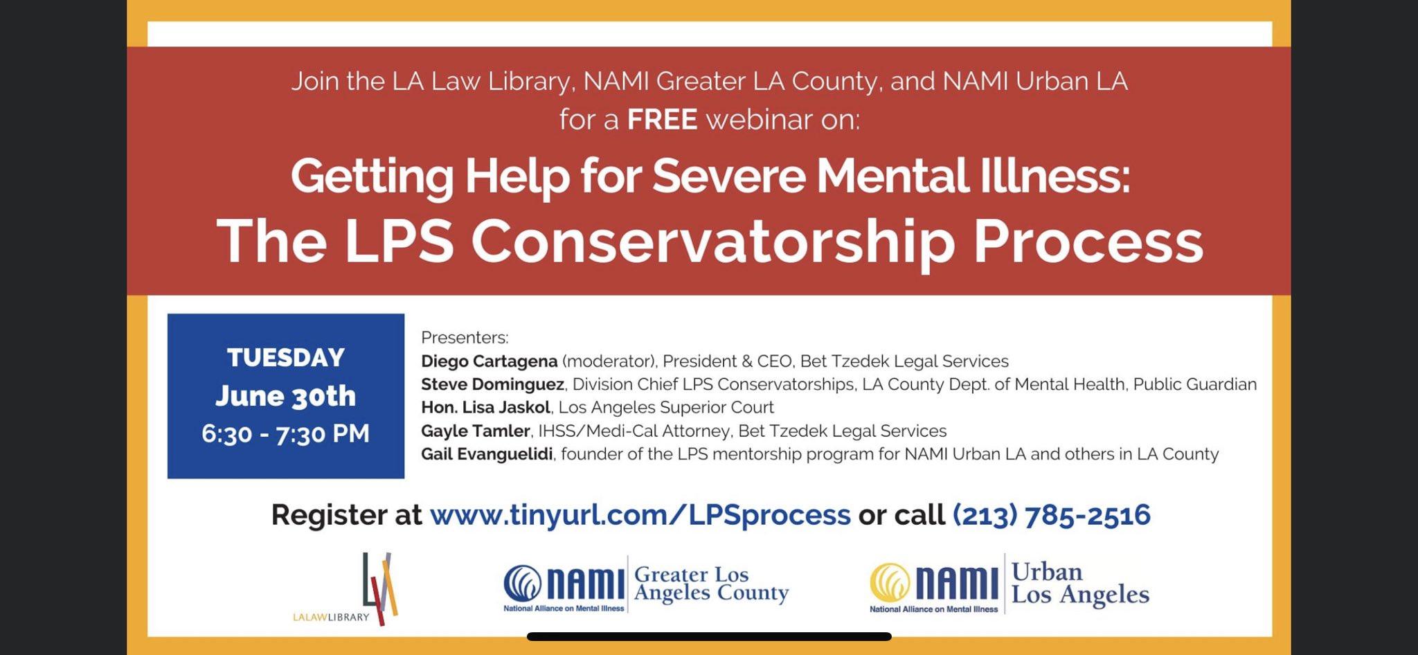 LPS Conservatorship Webinar